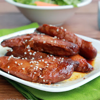 Crock Pot Honey Glazed Chicken.