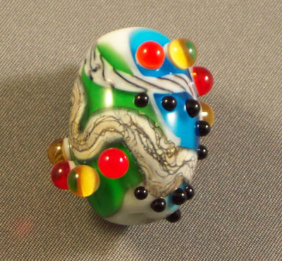 Wild Night Out Lampwork Focal by Burning Scentsations
