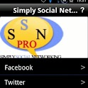 Simply Social Networking PRO logo