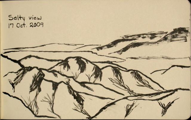 Salton Sea sketch