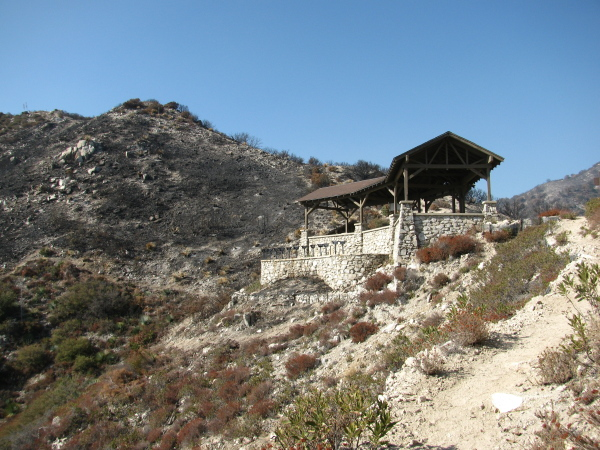 Inspiration Point pavilion
