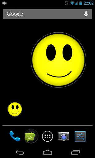 Face Color Battery Widget