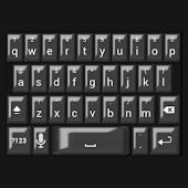 Black Pearl Keyboard Skin