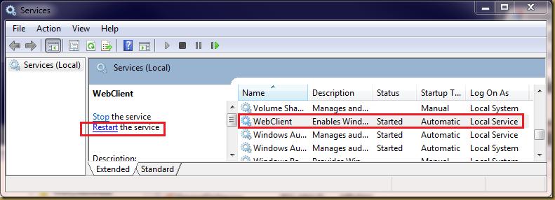 Chau Chee Yang Technical Blog: Microsoft Windows and WebDAV