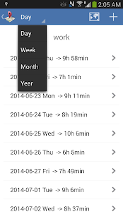 Timesheet - Geofence Location- screenshot thumbnail