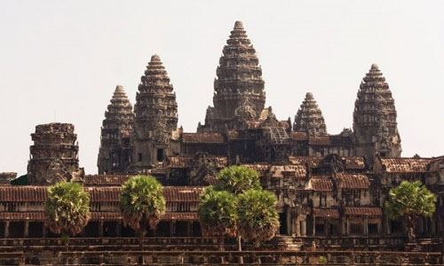 City-temple, Angkor Wat, Cambodia