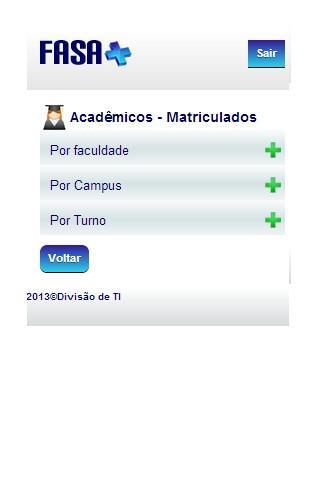 玩教育App|FASAMAIS - Informações Gerais免費|APP試玩