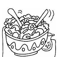 Colorear Alimentos Dibujos De Alimentos