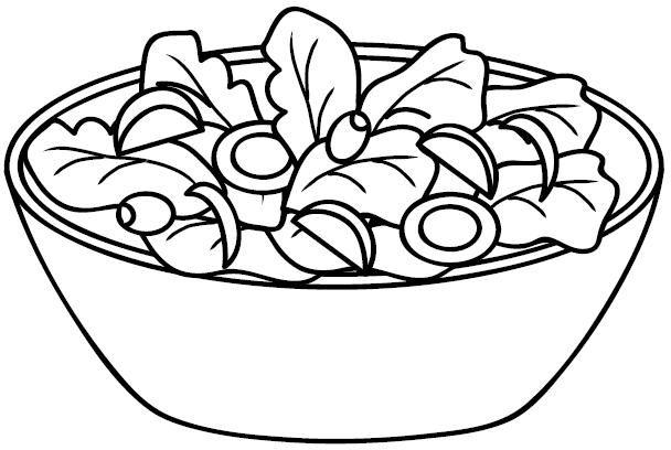 Alimentacion Sana Dibujos De Alimentacion Para Colorear