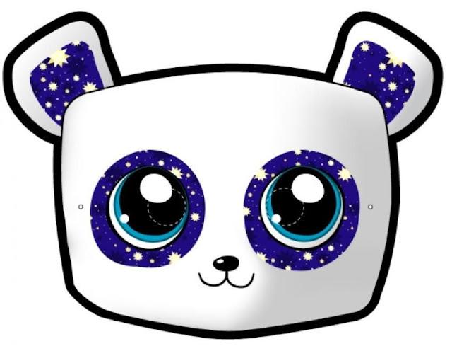 Mascaras de carnaval para pintar y recortar for Maschere da colorare animali