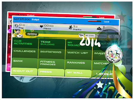 World Cup 2014 Soccer Manager 1.0 screenshot 52314