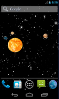 Screenshot of Sun system