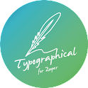 Typographical Zooper Theme APK Cracked Download
