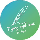 Typographical Zooper Theme