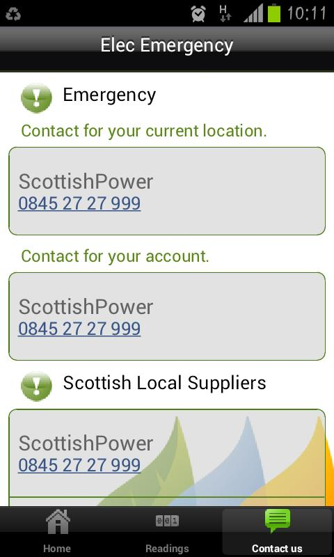 ScottishPower - screenshot