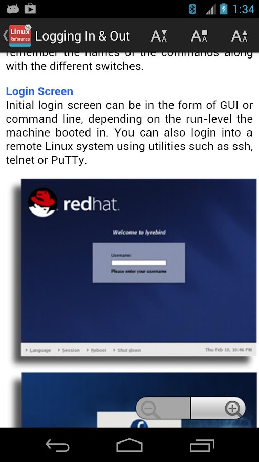 Linux Reference Free- screenshot