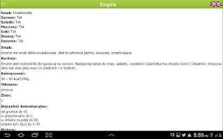 Screenshot of Varieties of apples