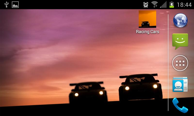 Racing Cars LIVE Wallpaper- screenshot