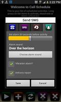 Screenshot of Call Schedule Lite