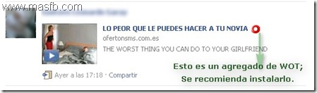ClickHacking por Facebook | MasFB