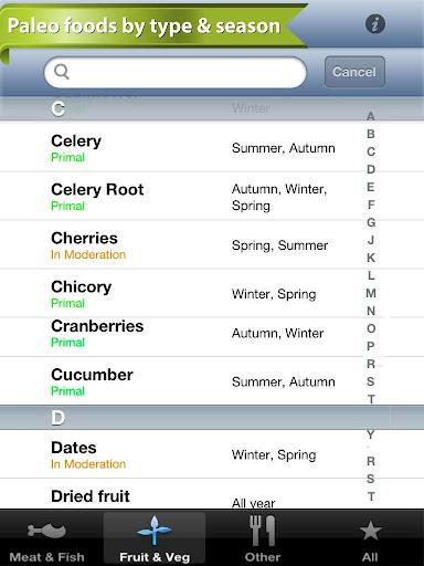 【免費健康App】Primal Paleo Diet Guide: Free-APP點子