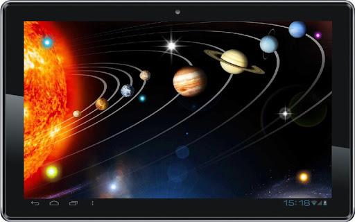 【免費個人化App】Stars n Planets live wallpaper-APP點子