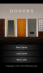 DOOORS - room escape game - - screenshot thumbnail