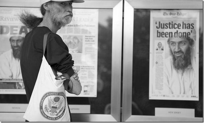 Craig Corl Photography: Scenes from the Newseum–Osama Bin