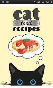 Cat Food Recipes- screenshot thumbnail