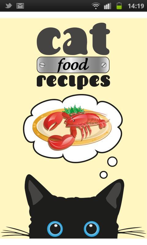 Cat Food Recipes- screenshot
