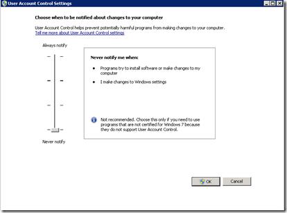 Sitecore control panel application access denied administrator account