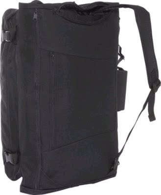 82215dcda368 Converts to a backpack with concealable straps or can be carried with the  detachable over the shoulder strap