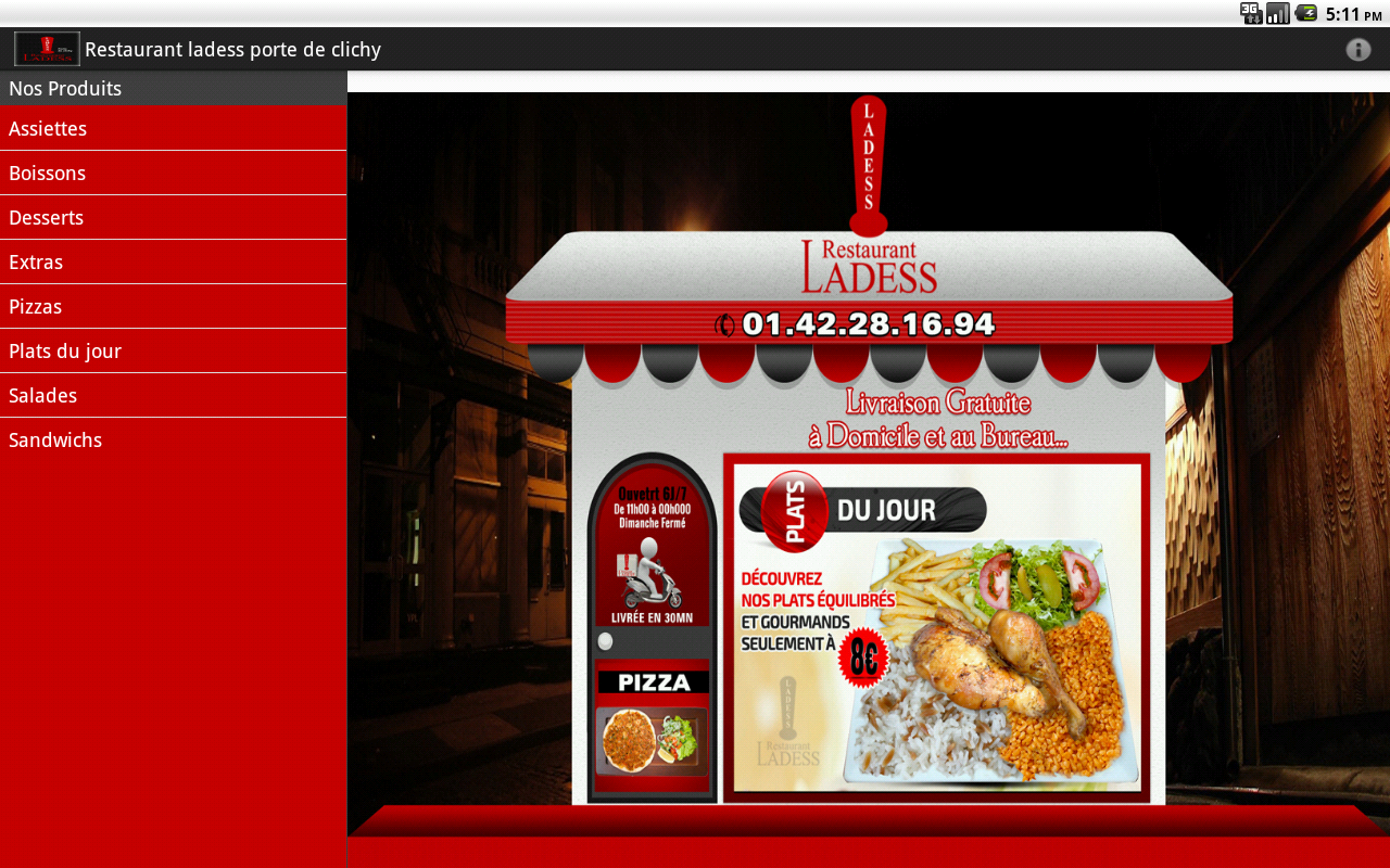 restaurant ladess porte clichy android apps on play