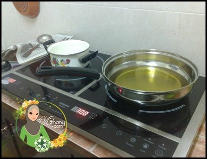 Kuali Untuk Menggoreng Tu Didatangkan Bersama Dapur Nih