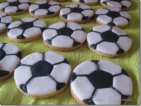 Tartas Encantadas Galletas Balón De Futbol