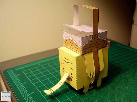 Adventure Time Tree Trunks Papercraft