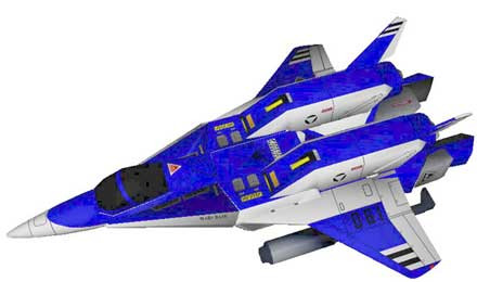 Armo Fighter AFC01 Legioss Papercraft