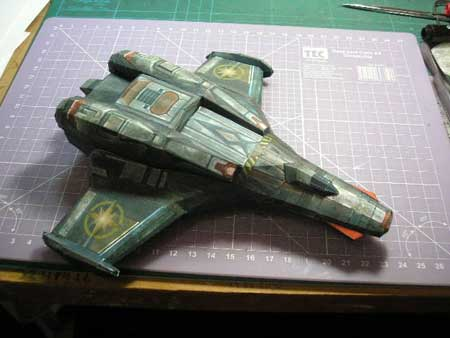 Wing Commander Arena Papercraft