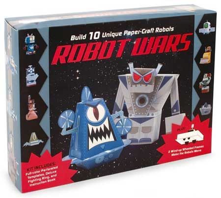 Robot Wars Papercraft Kit