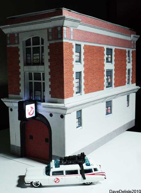 Ghostbusters Firehouse Papercraft