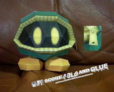 Moneybag Papercraft