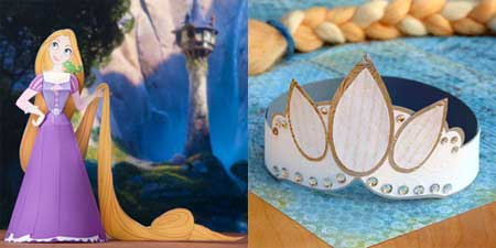 Disney Tangled Rapunzel Papercraft