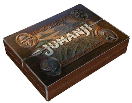 Jumanji Papercraft Gameboard