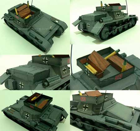 T1A Ammunition Transport Papercraft