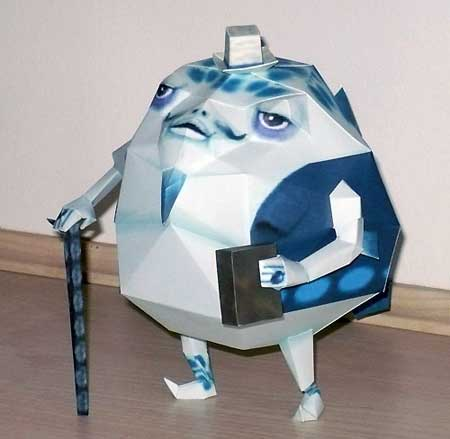Toto Papercraft