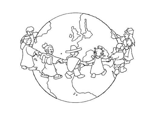 Dibujos De NiÑos Por Nacionalidades