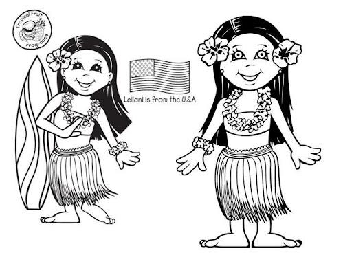 Dibujos De Las Misiones: NIÑOS DEL MUNDO PARA COLOREAR