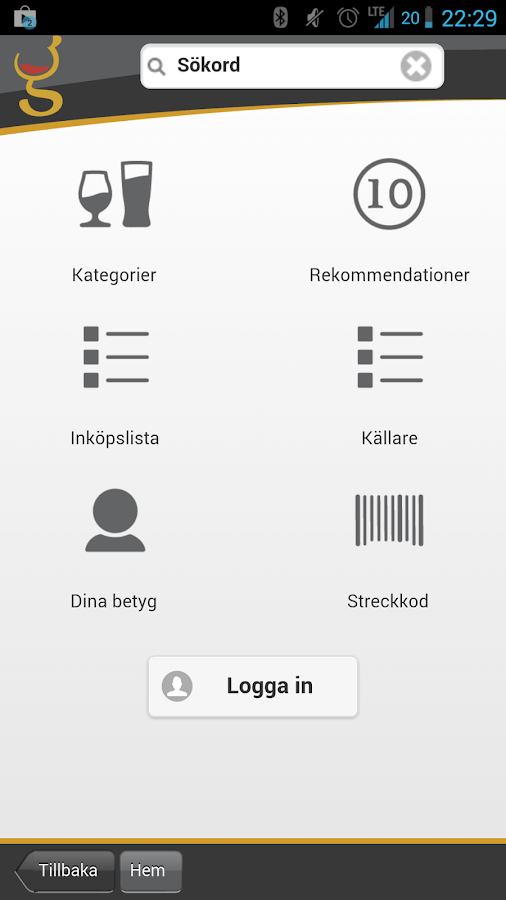 iGlaset- screenshot