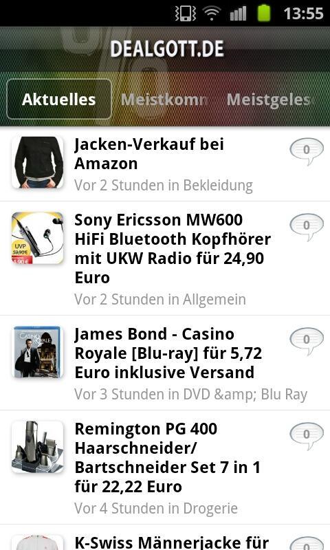 Dealgott.de - screenshot
