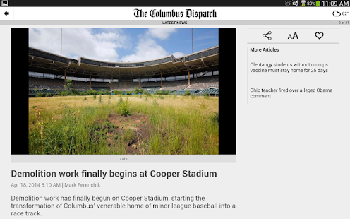 The Columbus Dispatch- screenshot thumbnail